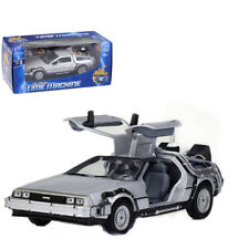 Welly 1:24 Back to the Future 2 Delorean Time Machine Diecast Model Toy Car