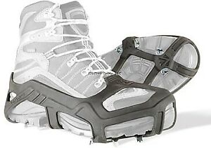 NEW! Korkers Unisex Apex Ice Stainless Steel Cleats, Black, L/XL OA8500-LG/XL