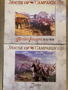 A Call To Arms Zulu Wars House Of campaign 1/72 British Infantry & Zulus