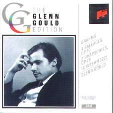 J.Brahms: Balladen op. 10 & 79, 10 Intermezzi; Glenn Gould  2 CD