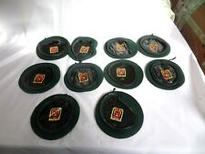 10 ISRAEL ARMY GREEN NESHER BERET SIZE 54