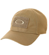 Oakley Si Hat Cap Elite Ellipse Velcro Logo L/XL Coyote Desert Tactical New Men