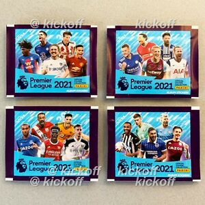 Panini Premier League 2021: NEW Packets of stickers. Available NOW. Free post