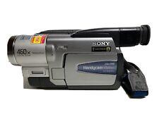 Sony Handycam Ccd-Trv68 Ntsc Hi-8 Analog Camcorder + Power Cord + 3 Blank Tapes