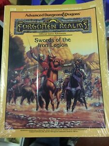 AD&D Forgotten Realms Swords of the Iron Legion module