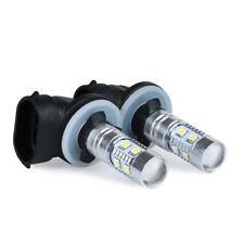 2 x White High Power 2323 SMD 881 LED Fog Driving Light Bulbs 12V-24V 1200LM
