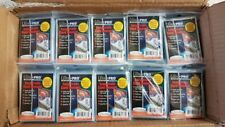 1000 x ULTRA PRO EASY GRADE SLEEVES ANGLE CUT PREVENTS CORNER DAMAGE - 10 PACKS