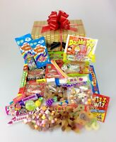 Retro Sweet Hamper Gift - Thank You - Birthday - Christmas Get Well - Large Mix