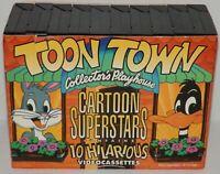 Toon Town Collector's  Cartoon Superstars 10 VHS Videocassettes Casper Popeye