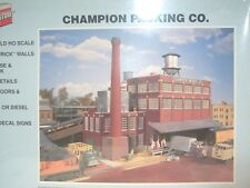 Ho Walthers Cornerstone Kit Champion Packing Company Building Still Sealed