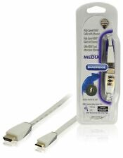 Bandridge High Speed Mini HDMI with Ethernet Cable 1m