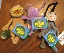 """A Bug's Life Plush Set ~ Francis, Dot And Flea, 8"""""""