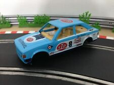 Scalextric Car Ford Escort XR3i STP C395 Body Shell Interior Cabin Chassis