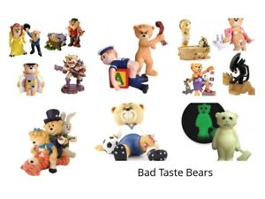 Bad Taste Bears, Various Bears, Good Conditon, Boxed, Rare
