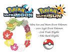 Pokemon Ultra Sun and Moon 2nd B-Day Distribution Comfey Japan Event Pokemon