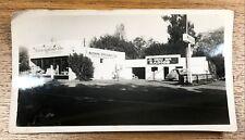 Modern Appliance Store Radio Mobil Gas Garage Vintage Photograph Snapshot Pic
