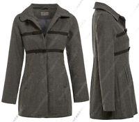 NEW WOOL BLEND COAT AGE 7 8 9 10 11 12 13 GIRLS JACKET Lined Girl CLOTHING Schoo