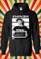 Eminem Slim Shady Rap Cool Funny Men Women Unisex Top Hoodie Sweatshirt 2139