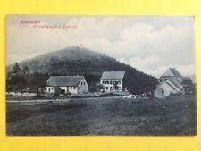 cpa Allemande de 1910 FORSTHAUS Bei ZABERN Maison Fôrestière SAVERNE HABERACKER