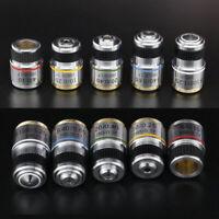 185 Achromatic Objective Optical Lens 4X 10X 20X 40X 60X 100X for 160/0.17