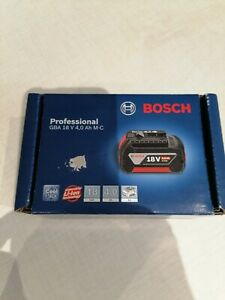 Bosch professional 18v battery New Unopened