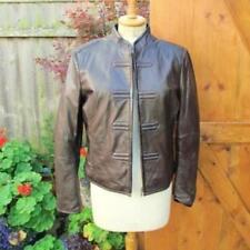 Manteaux et vestes marron en cuir taille L pour femme