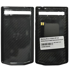 New Porsche Design Battery Door Cover Carbon Black for Blackberry P'9983