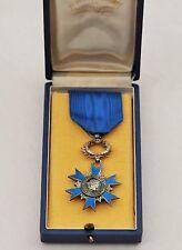 Ordre National du Mérite, chevalier en argent, modèle luxe, 1 diamant