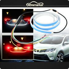 Car Flow Type LED Car Tailgate Light Strip Brake Driving Turn Signal Lamp DC 12V
