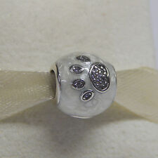 New Authentic Pandora Charm 791712CZ I Love My Pet Box Included