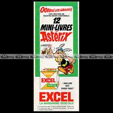 ASTERIX & Margarine EXCEL 'Les mini-livres' 1967 - Pub / Publicité / Ad #C1