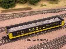 Hay Brothers LOOSE SCRAP ALUMINUM LOAD - Fits Athearn / MDC 100t 52ft Gondolas