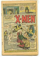 Uncanny X-Men #1 Silver Age Marvel Comics Coverless 1963 A1
