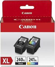 Genuine Canon PG-240XL Black / CL-241XL Color Ink Cartridges ( Value Pack )