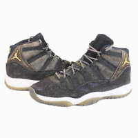 Nike Air Jordan XI 11 Retro HC Heiress Stingray Black Gold 852625-030 Size 7Y