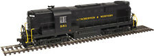 Atlas HO Scale Alco RS11 Winchester & Western/WW (Black/Yellow) #351