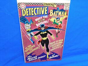 DETECTIVE COMICS (1937) #359 1ST APPEARANCE OF BATGIRL BARBARA GORDON