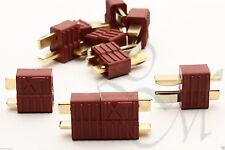 Deans T-Connector RC Battery Nylon Connectors Male Female Pair 1 2 5 10 RC Parts