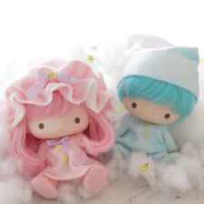 ((New)) RARE Sanrio Japan Little Twin Stars Soft Vinyl Doll Set kikilala