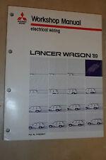 MITSUBISHI LANCER WAGON OEM FACTORY ELECTRICAL WIRING DIAGRAMS MANUAL 1989>