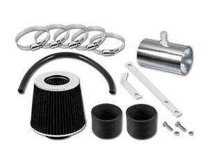 For 07-11 GMC Acadia All Model GSP Black Short Ram Air Intake Kit + Filter