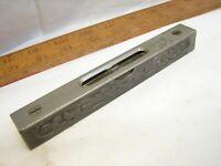 Stanley No. 39-1/2 Ornate Filigree Machinist Level 1896 Pat Cast Iron Tool