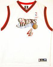 Reebok NBA Basketball philadelphie 76ers #4 Chris webber maillot/Jersey 36 xs