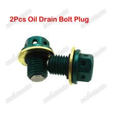 2x Magnetic Oil Drain Bolt Plug For Lifan YX Dirt Pit Bike 110 125 150cc M12x1.5