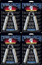 4 Ironmind Captains of Crush CoC Hand grippers  No. 1 + 1.5 + 2 + 2.5 Gripper