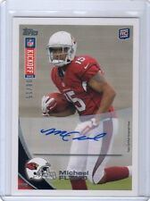 2012 TOPPS KICKOFF MICHAEL FLOYD GOLD AUTO RC #8/15 RARE ROOKIE