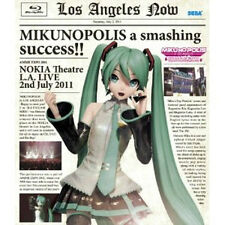 Hatsune Miku MUSIC DVD Video Japanese  Blu-ray  MIKUNOPOLIS in LOS ANGELES