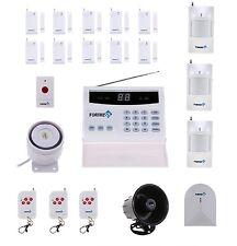 Fortress Wireless Security Landline Alarm System Glass Detector Sensor Siren FOB
