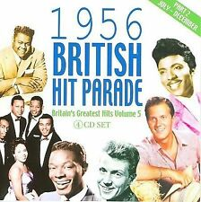 1956 British Hit Parade Part 2 4CD Boxset Elvis Fats Domino Bill Haley 92 Songs!
