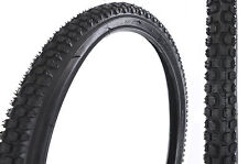 PAIR 22 x 1.75 (47-456) MOUNTAIN BIKE TYRES,VERY HARD TO FIND SIZE CYCLE TYRES